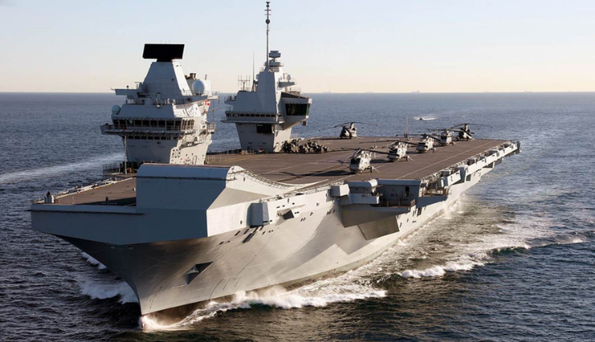 Queen Elizabeth Class aircraft carrier's workforce protected by all-purpose Emergency Response Team