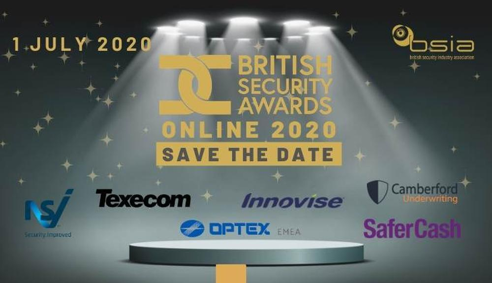 BSIA to move British Security Awards to an online broadcast for 2020